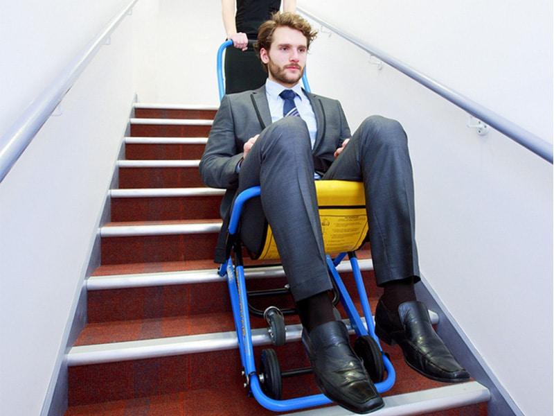 Evac Chair voor noodsituaties